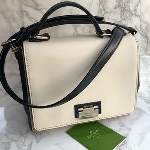 Kate Spade Crossbody Bag in Black Beige & Cream